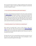 Will Your Breasts Look Natural After Breast Enlargement - Page 2