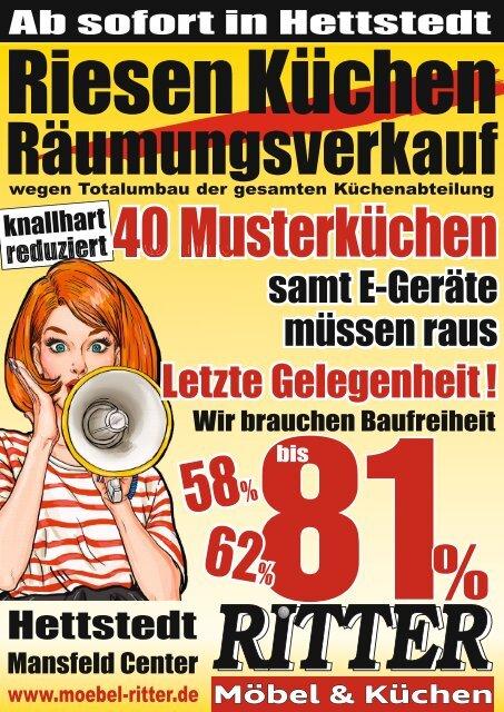 Küchen Räumungsverkauf Hettstedt Endspurt