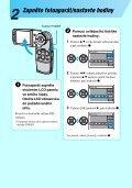 Sony DSC-M2 - DSC-M2 Consignes d'utilisation Tchèque - Page 7