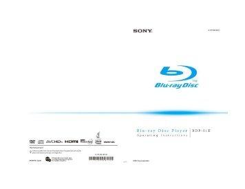 Sony BDP-S1E - BDP-S1E Mode d'emploi Roumain