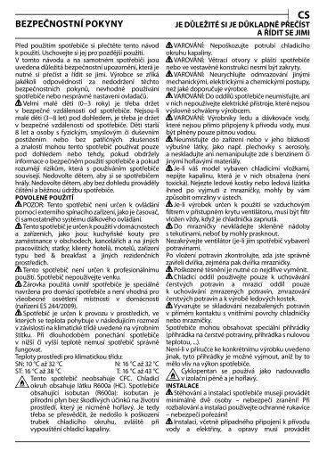 KitchenAid UC FZ 80 - UC FZ 80 CS (850785196000) Health and safety