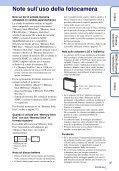 Sony DSC-W380 - DSC-W380 Consignes d'utilisation Italien - Page 3