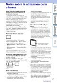 Sony DSC-W380 - DSC-W380 Guide pratique Espagnol - Page 3