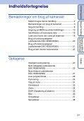 Sony DSC-W380 - DSC-W380 Consignes d'utilisation Danois - Page 5