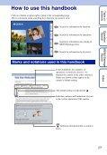 Sony DSC-W380 - DSC-W380 Guide pratique Anglais - Page 2