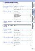 Sony DSC-W380 - DSC-W380 Guide pratique Anglais - Page 7
