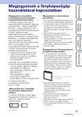 Sony DSC-W380 - DSC-W380 Guide pratique Hongrois - Page 3
