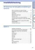 Sony DSC-W380 - DSC-W380 Guide pratique Suédois - Page 4