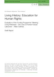 Living History: Education for Human Rights