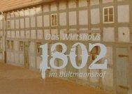 Speisekarte 1802