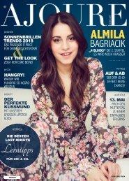 AJOURE´ Magazin Mai 2018