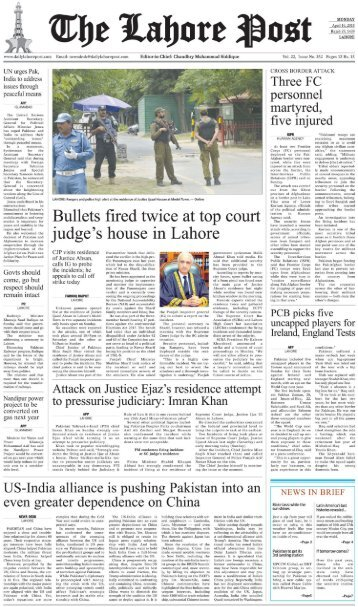 The Lahore Post 16 April 2018
