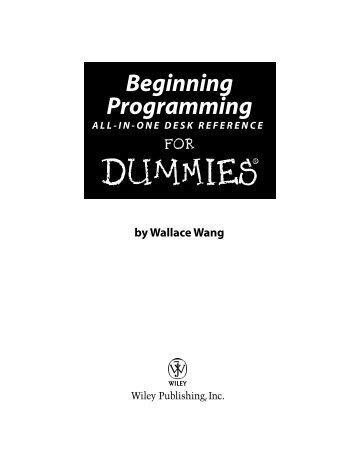 programming-for-dummies