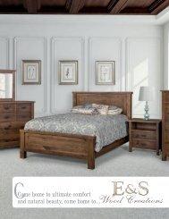 E&S Wood Creations 2018 Catalog