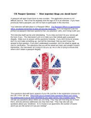 UK Passport Questions – Most important things you should know!