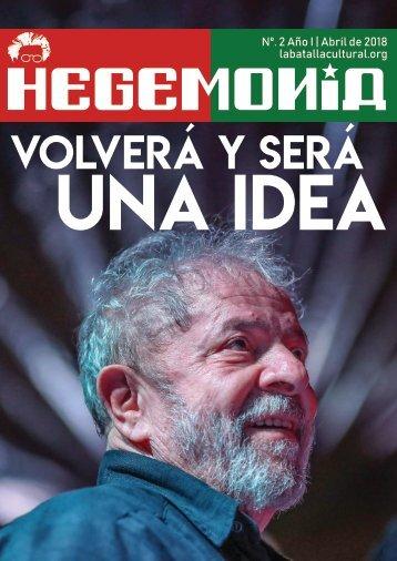 Revista Hegemonía. Año I Nº. 2