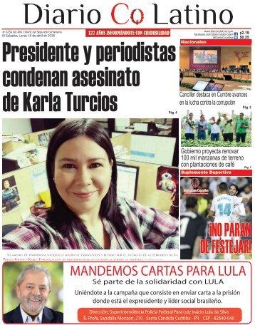Edición 16 de Abril de 2018