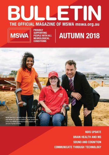 MSWA Bulletin Magazine Autumn 18