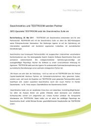 Zieltrafic wird Premium-Partner von SEOmetrie - Searchmetrics