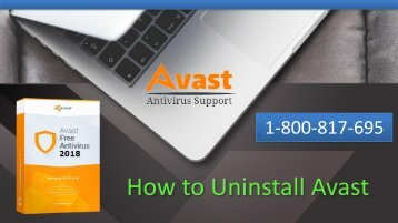 How to Uninstall Avast Antivirus from your Computer