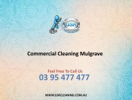 Commercial Cleaning Mulgrave