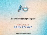 Industrial Cleaning Company