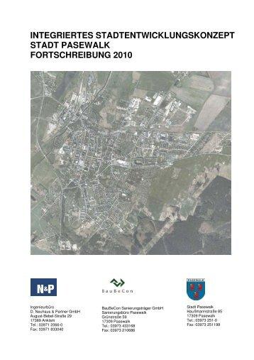 ISEK Pasewalk - Fortschreibung 2010 - 280211 - Stadt Pasewalk