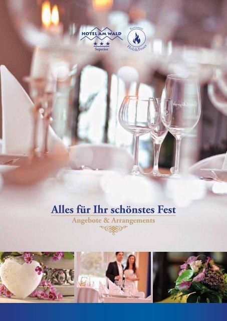 Hotel am Wald - Alles für Ihr schönstes Fest