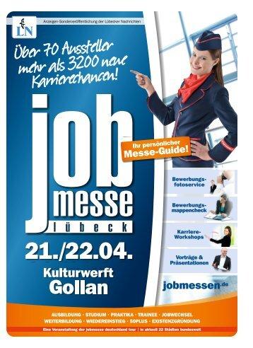 Der Messe-Guide zur 9. jobmesse lübeck