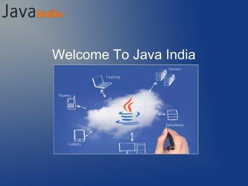 Java Development Company India -Java India