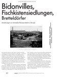 Bidonvilles & Bretteldörfer - Ein Jahrhundert informeller Stadtentwicklung in Europa - Seite 5