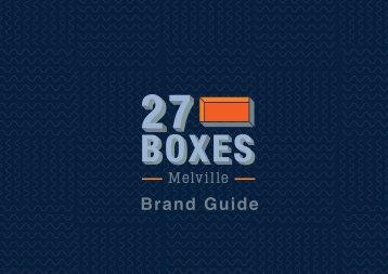 27 Boxes Brand Guide NOV