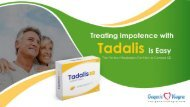 Treating Impotence with Tadalis is Easy