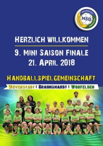 Hallenheft Minisaisonfinale 2018