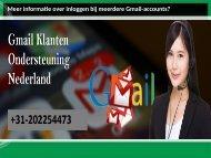 Meer informatie over inloggen bij meerdere Gmail-accounts
