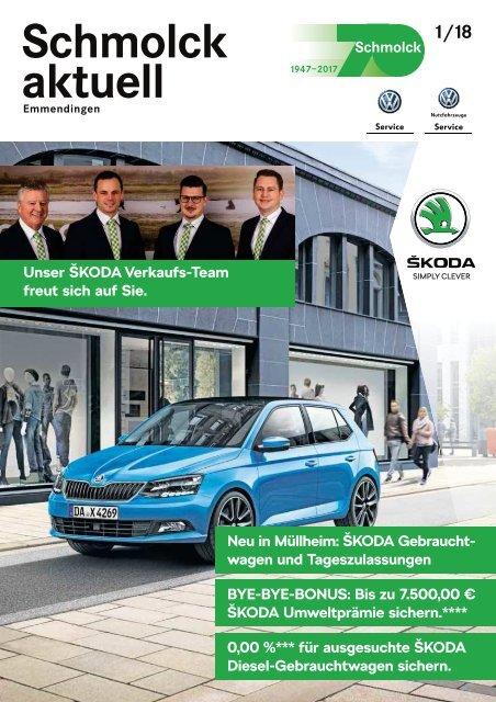 Schmolck aktuell ŠKODA 2018-01