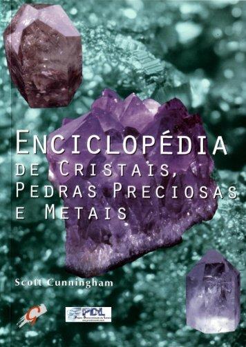 Enciclopédia de cristais, pedras preciosas e metais