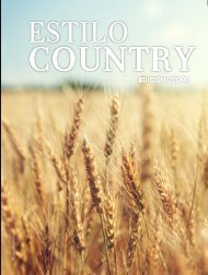 Estilo Country Edición Otoño 2018
