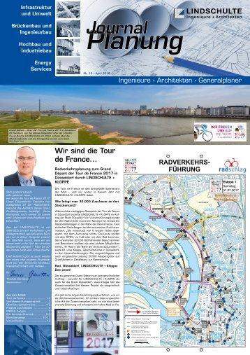 "LINDSCHULTE-Kundenzeitung ""Journal Planung"" 15/2018"