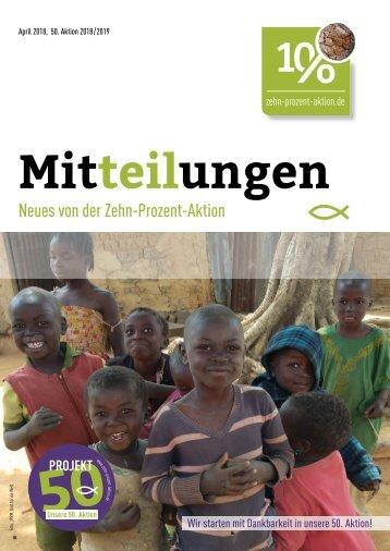 Mitteilungen, April 2018