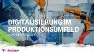 Digitalisierung im Produktionsumfeld