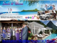 Destination Wedding Planner in St Lucia