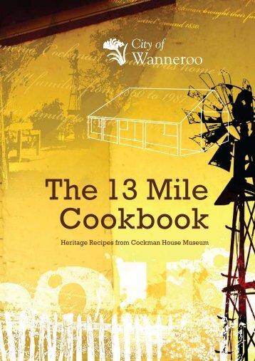 13 Mile Cook Book