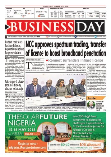 BusinessDay 17 Apr 2018