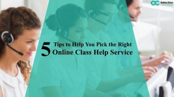 Don't Pay for Online Class Help Before Reading This..