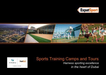 Expat Sport: Dubai Sports Tours for Professionals, Corporate & Schools