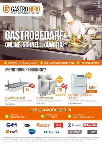 GastroHero Sommer 2018