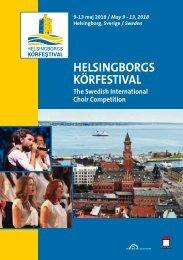 Helsingborg 2018 - Program Book