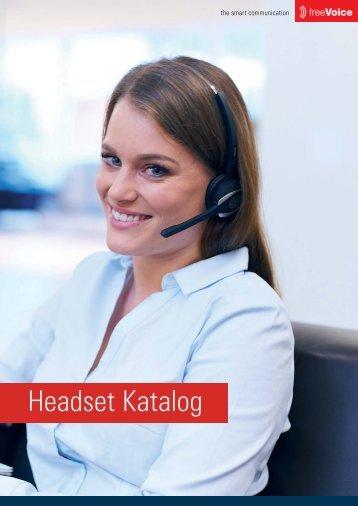 freeVoice Headset Katalog
