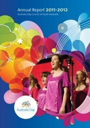 Annual Report 2011-2012 - Australia Day